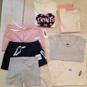 Old Navy Girls Summer Lot of 7 items. NWT. Size 3T